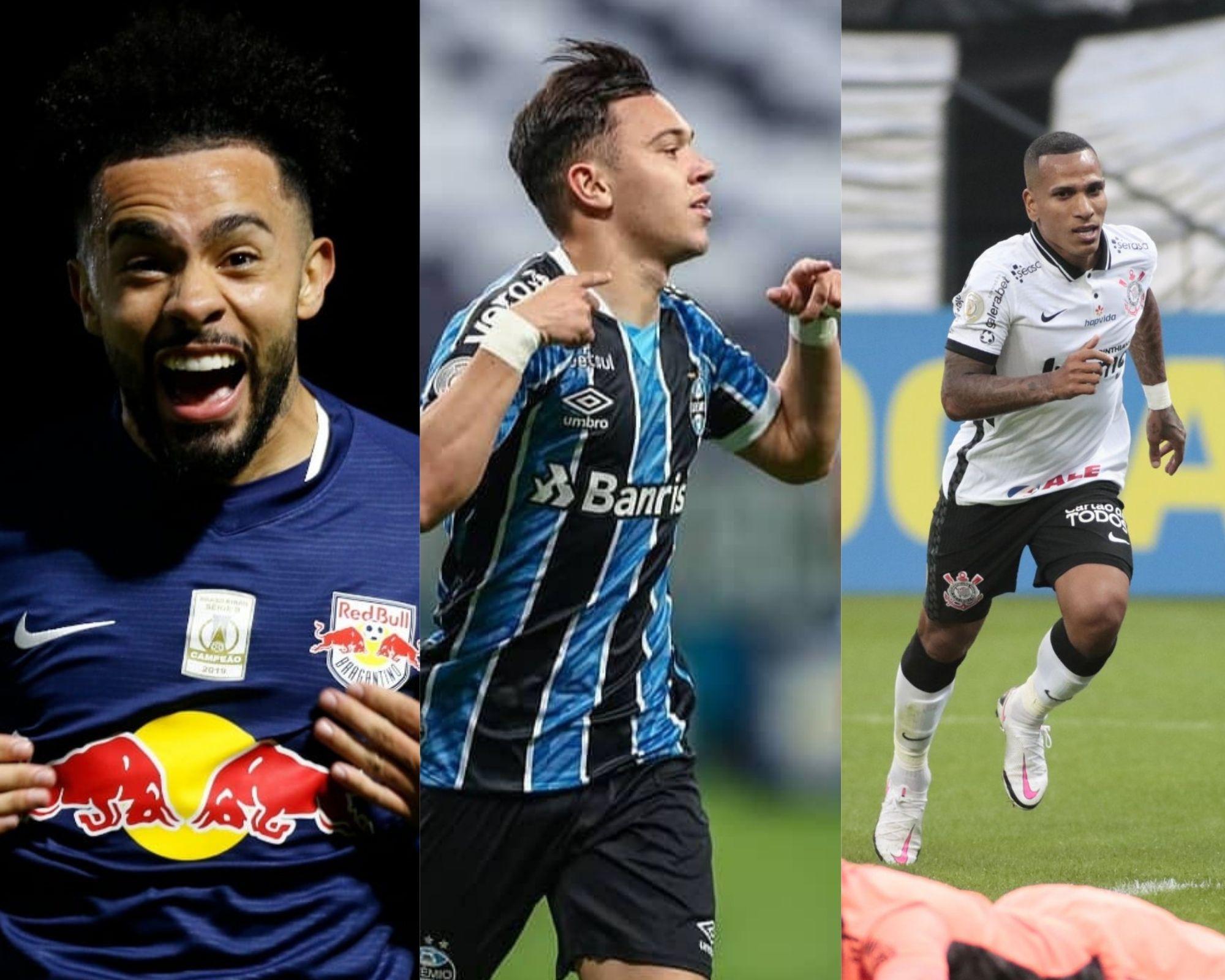 Imagem mostra jogadores que são dicas estratégicas para o Cartola FC.