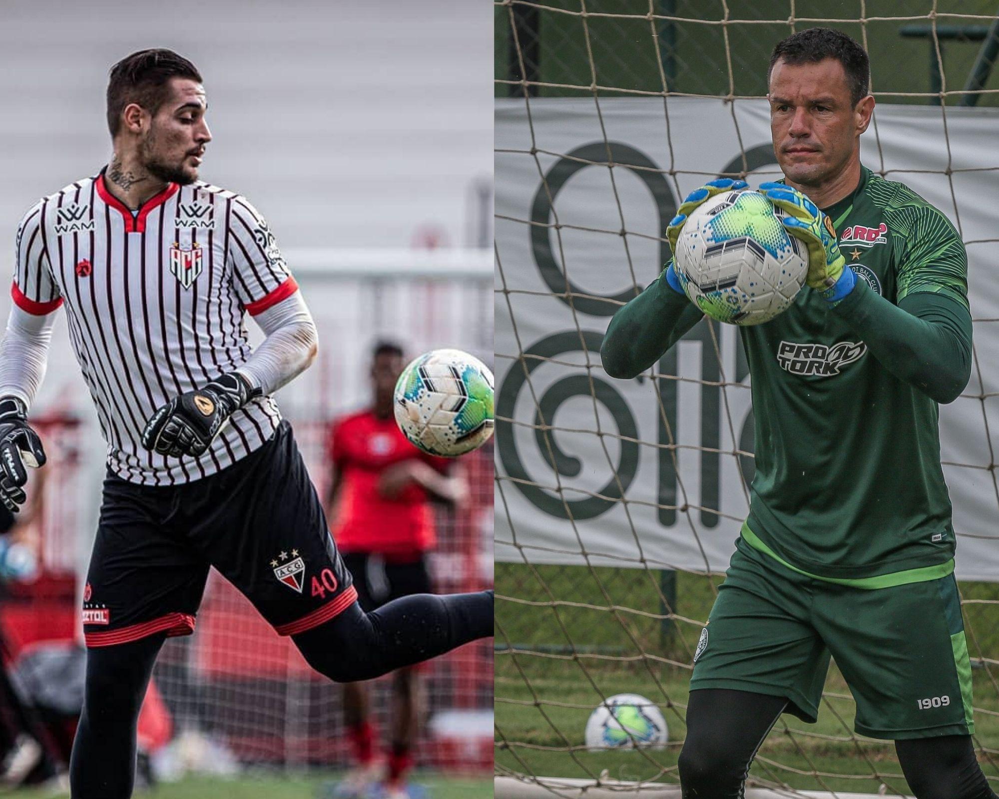 Imagem mostra dicas de goleiros para o Cartola FC.