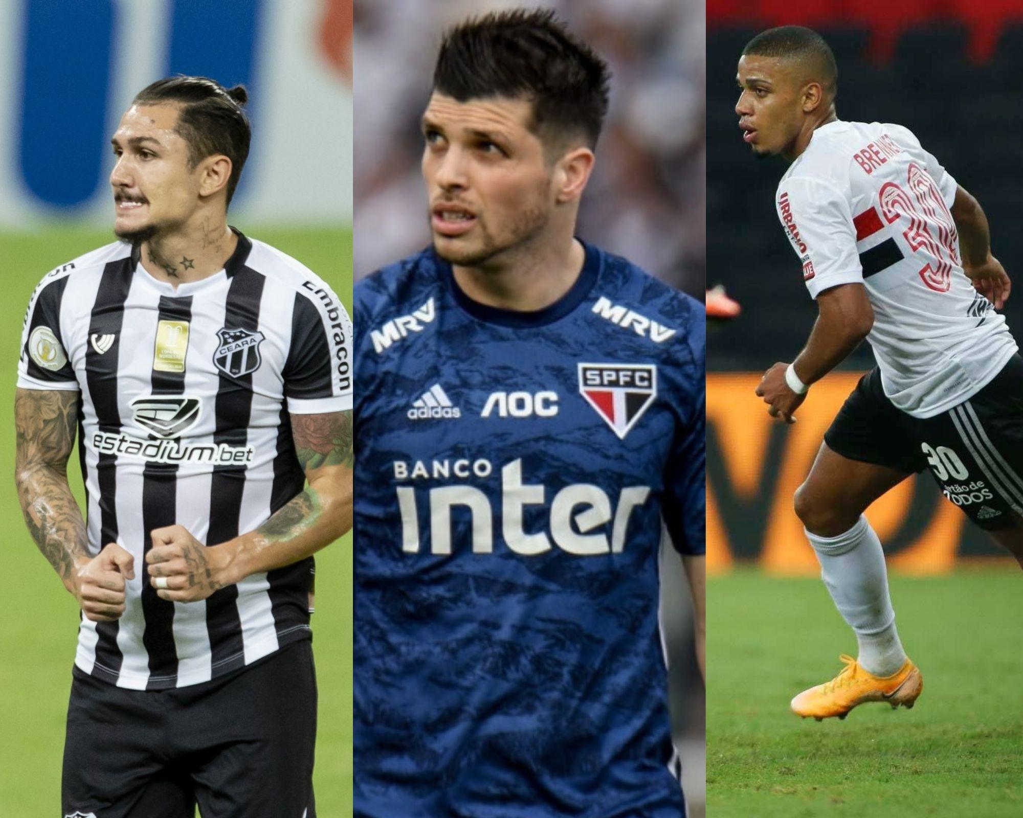 Imagem mostra as dicas de mais escalados do Cartola FC
