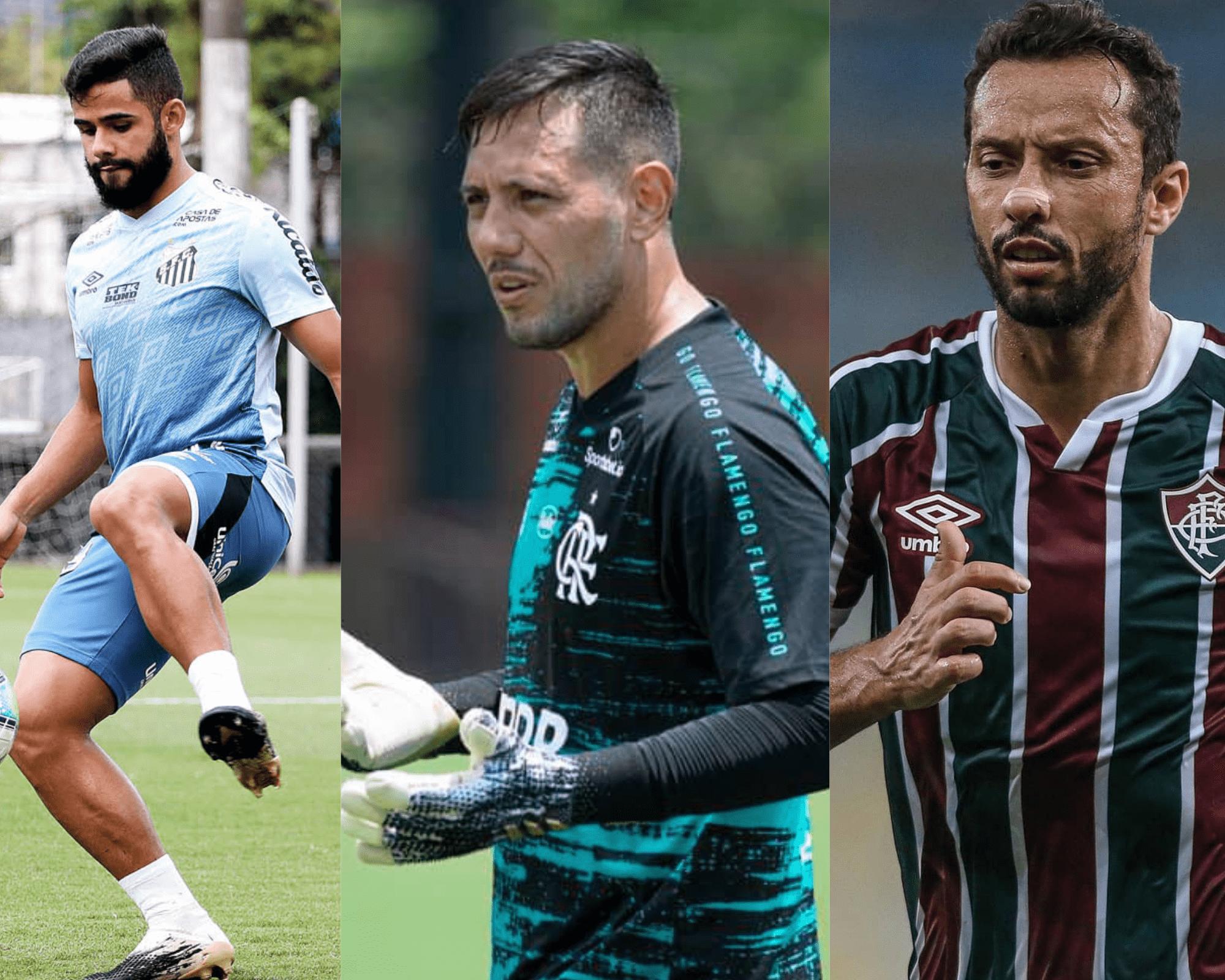 Imagem mostra jogadores que são dicas de valorização do Cartola FC