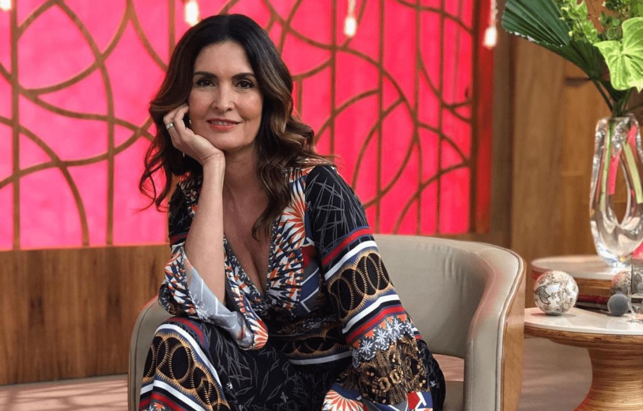 Imagem mostra a apresentadora Fátima Bernardes