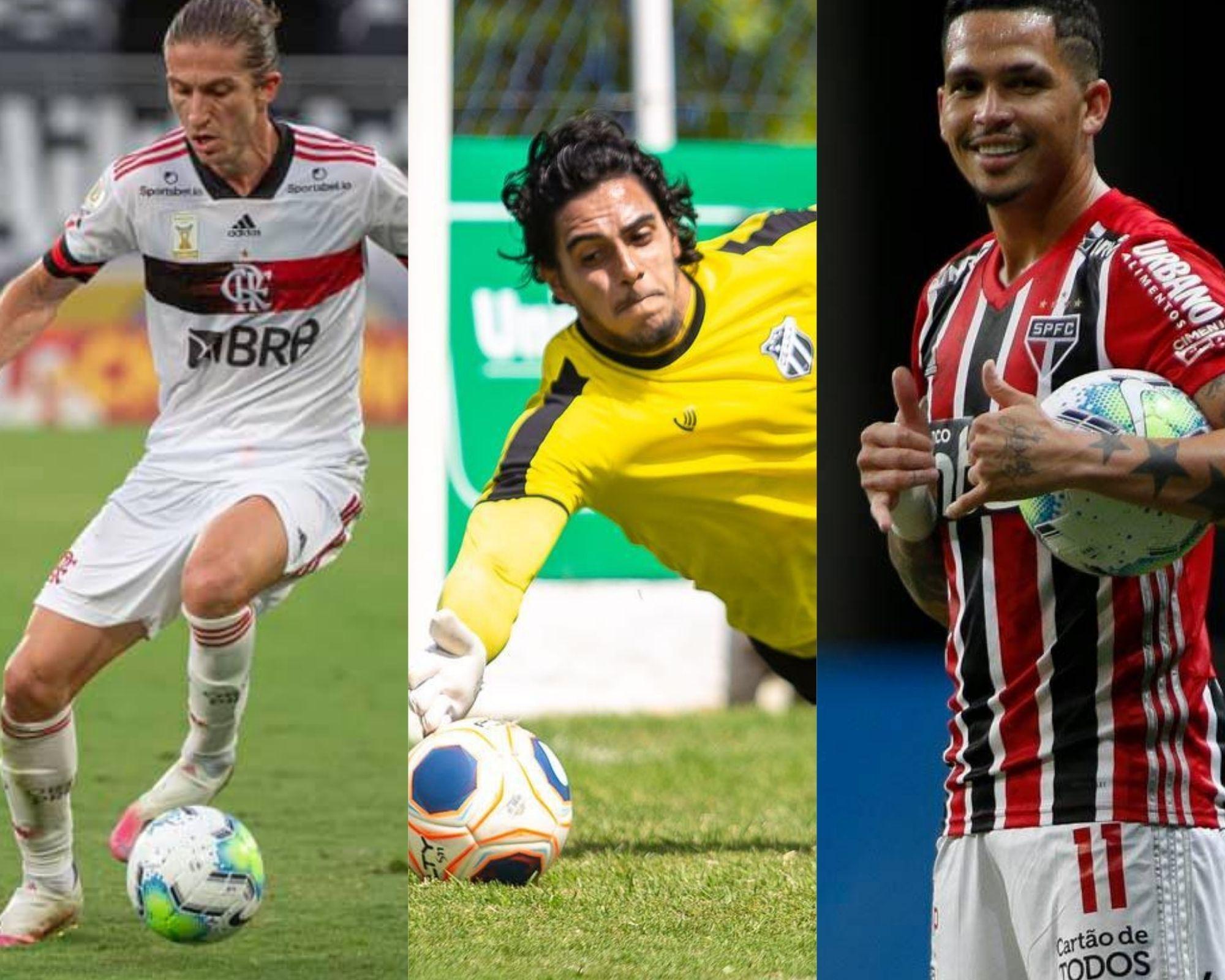 Imagem mostra jogadores que são dicas de bons e baratos para o Cartola FC