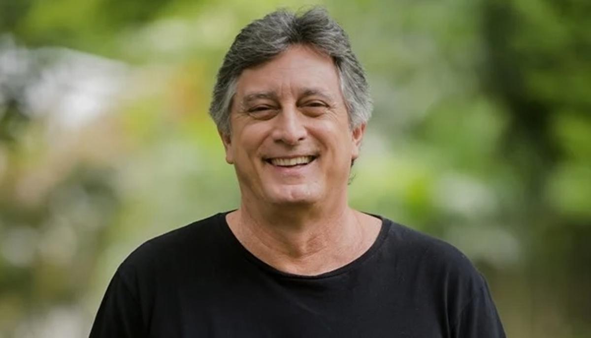 Na imagem o ator Eduardo Galvão, que morreu aos 58 anos