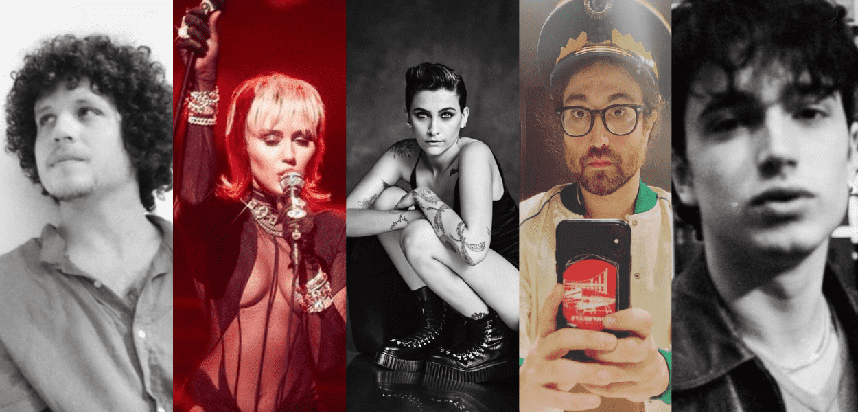 Chico Chico, Miley Cyrus e Elijah Hewson: confira estes e outros filhos de cantores famosos.