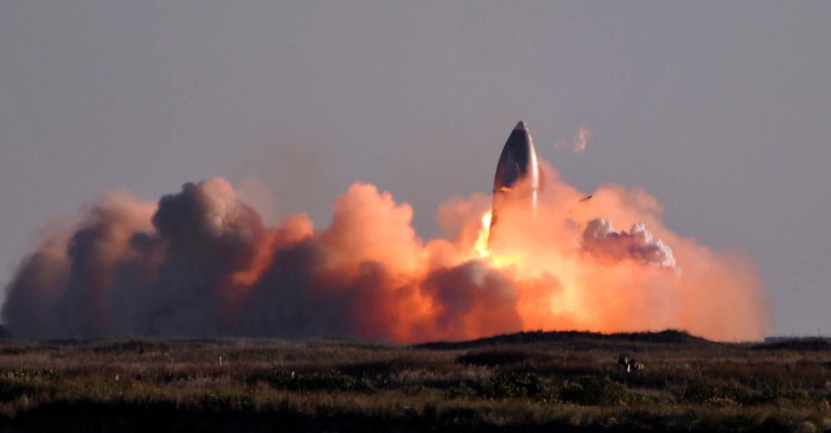 Foguete da SpaceX cai e explode