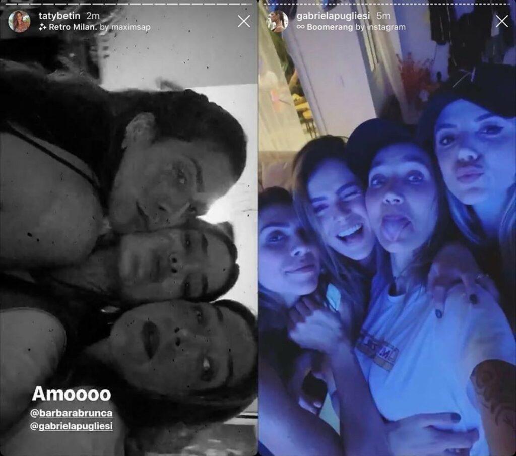 Imagem mostra Gabriela Pugliesi em festa