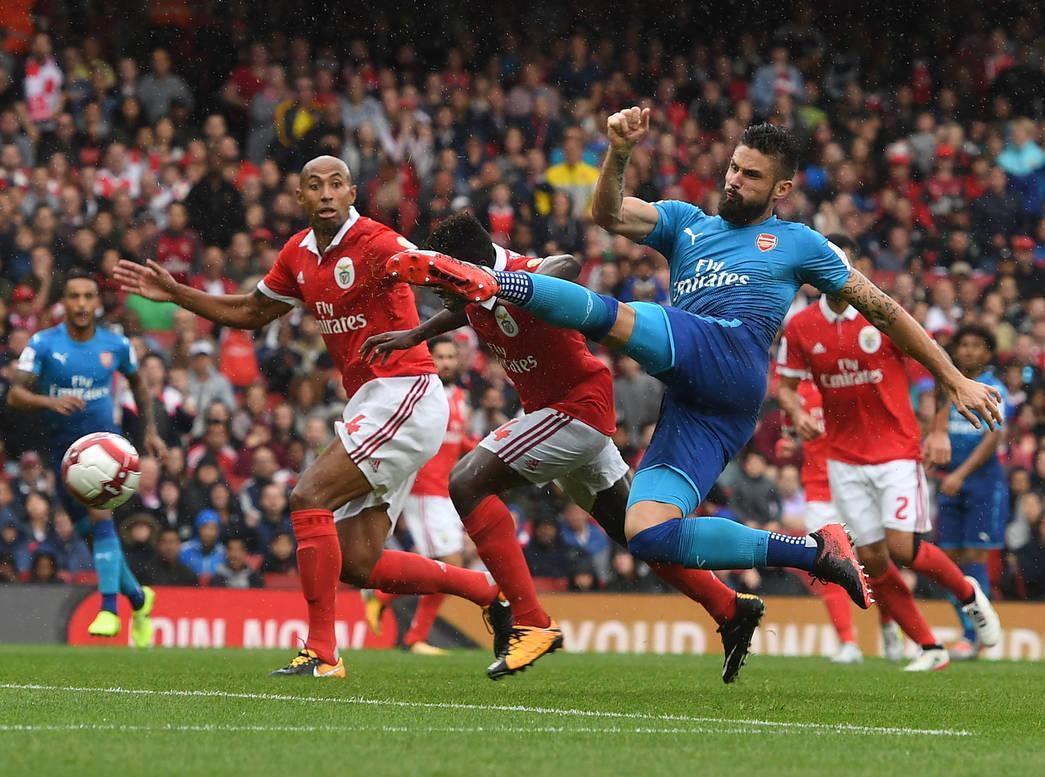 Arsenal x Benfica