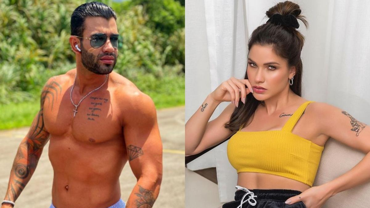 Na imagem Gusttavo Lima e Andressa Suita que se separam em 2020