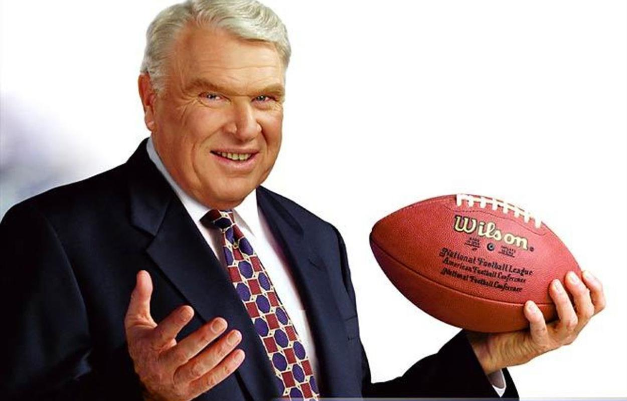 John Madden, ex-treinador da NFL