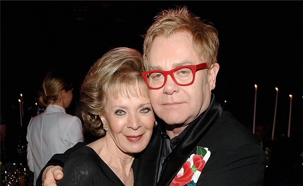 Lily Safra e Elton John