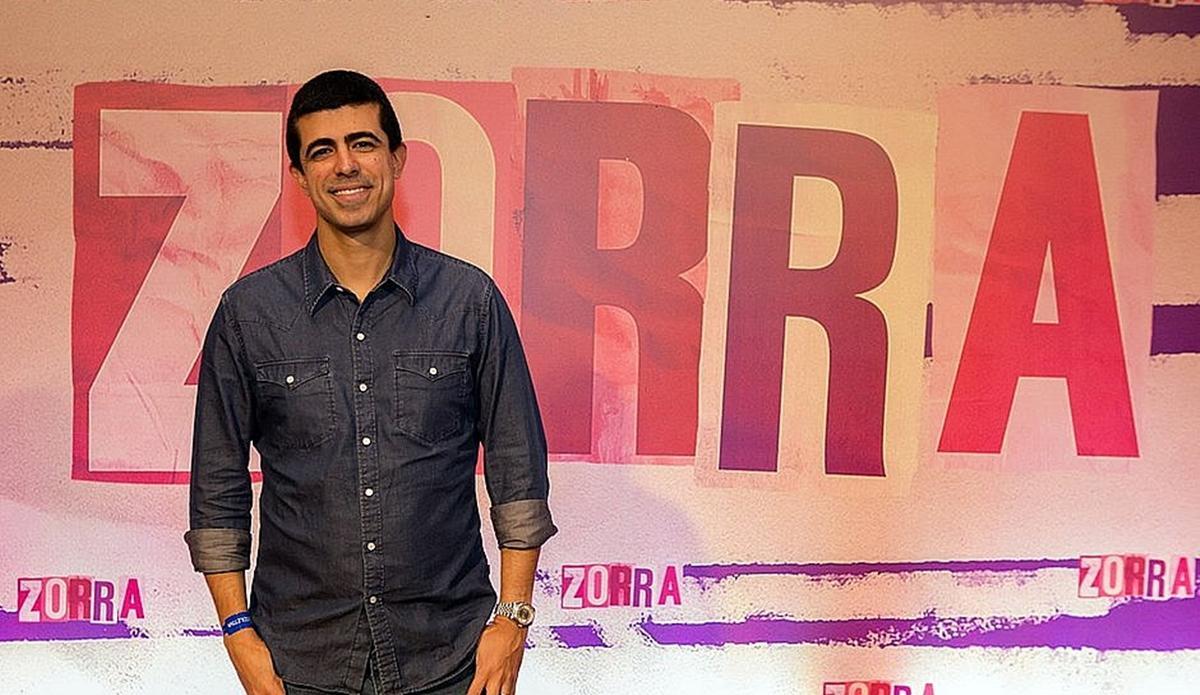 Na imagem, Marcius Melhem ex-diretor do Zorra