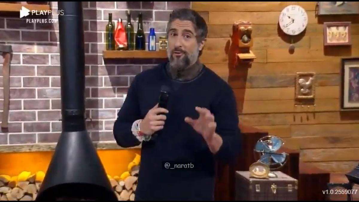Marcos Mion, apresentador de A Fazenda 12