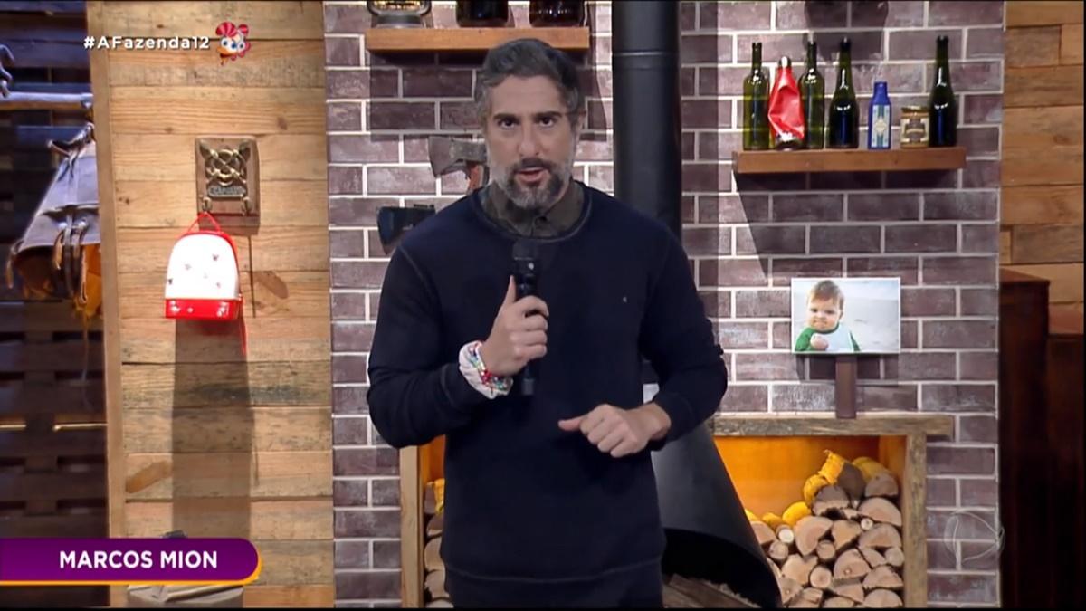 Marcos Mion, apresentador de A Fazenda 2020