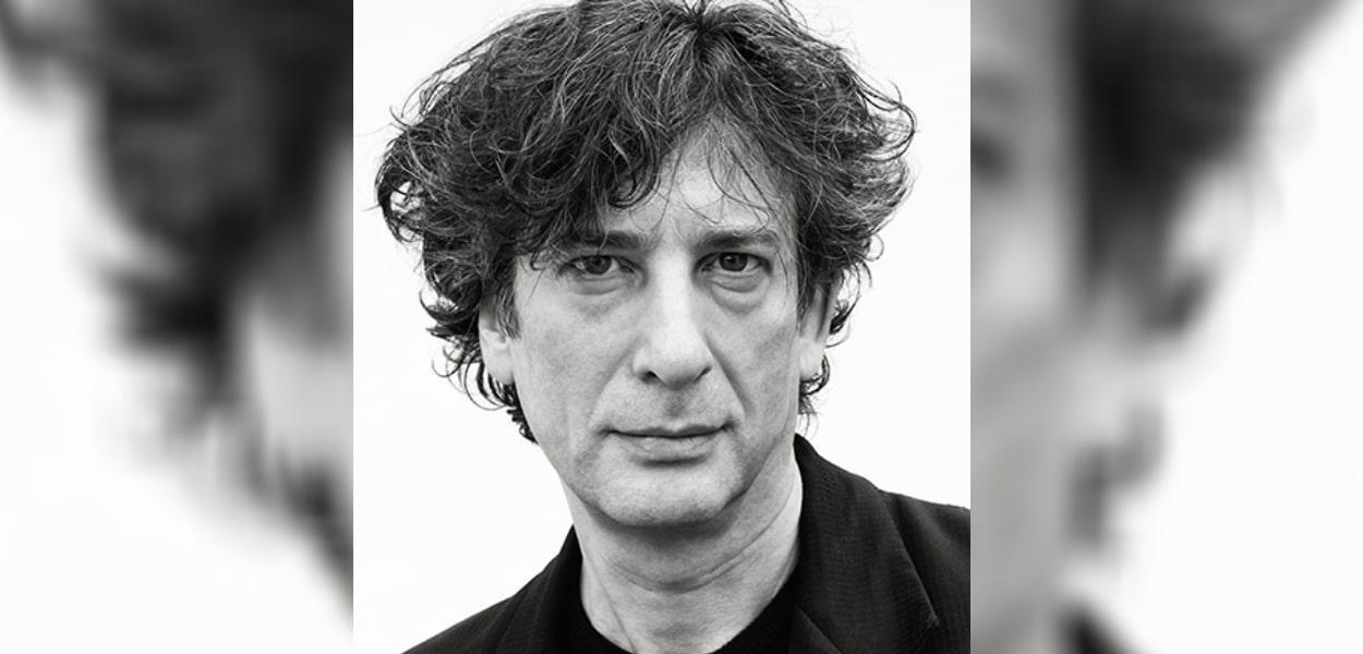Neil Gaiman. Divulgação: CCXP