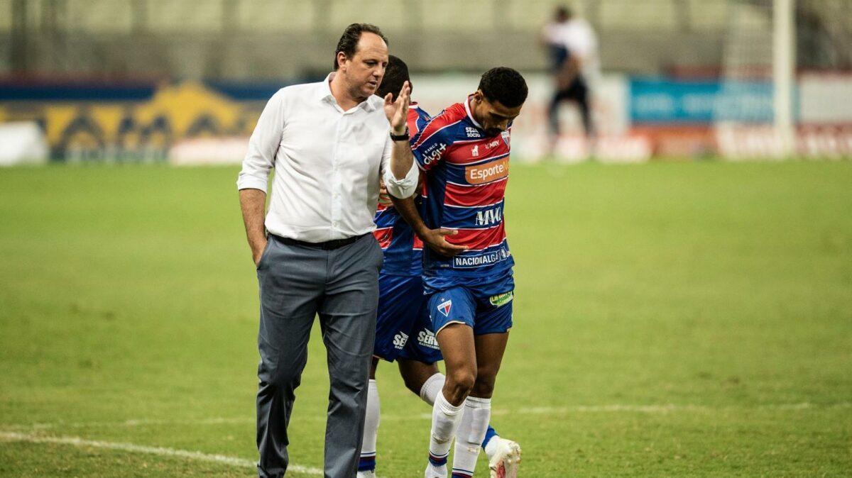 Rogério Ceni comandou o Fortaleza por cerca de três anos, e hoje reencontrará ex-clube