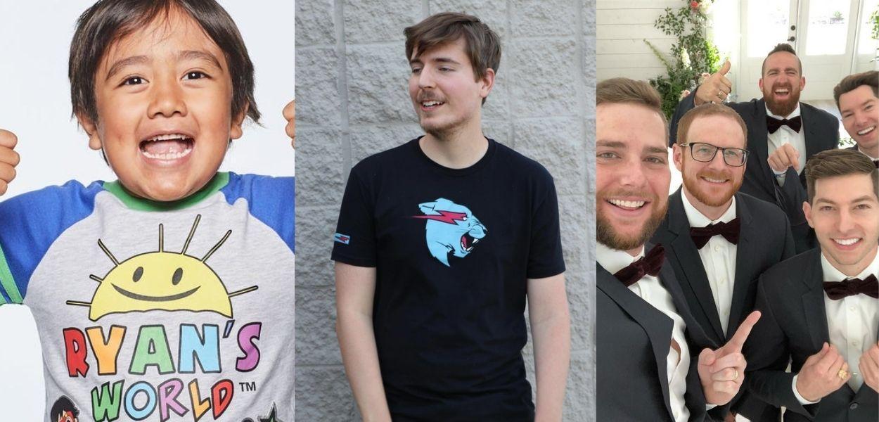 Saiba quem são os 10 YouTubers mais bem pagos