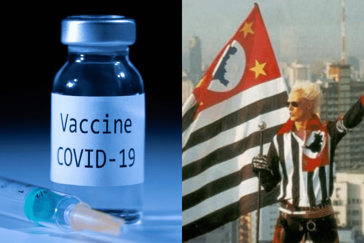 vacina contra covid e memes