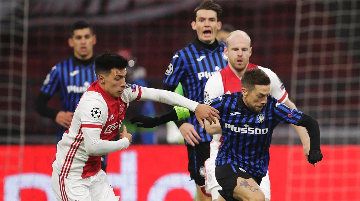 Atalanta x Ajax pela Champions League 2020/21