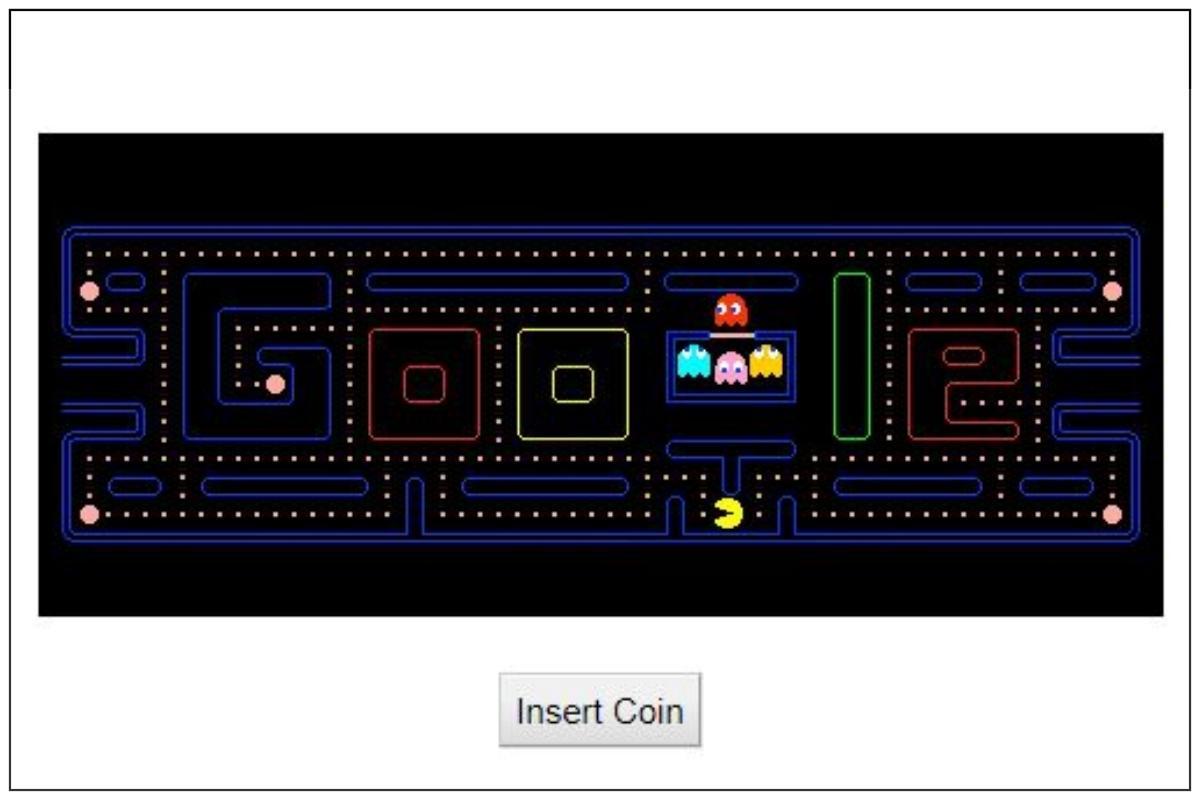 Google Doodle: Pac Man