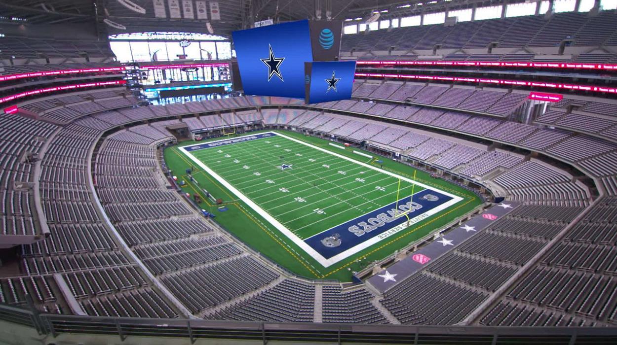AT&T Stadium, casa do Dallas Cowboys