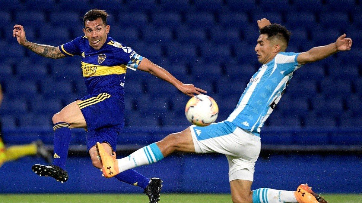 Boca Junior e Racing fizeram o clássico argentino nas quartas de final da Libertadores