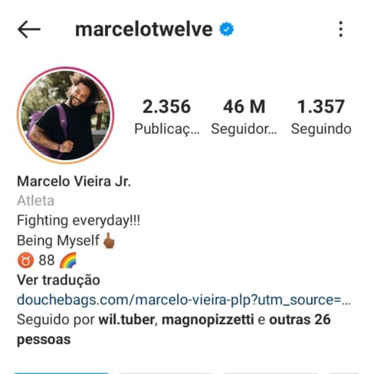 Brasileiros mais seguidos no Instagram Marcelo