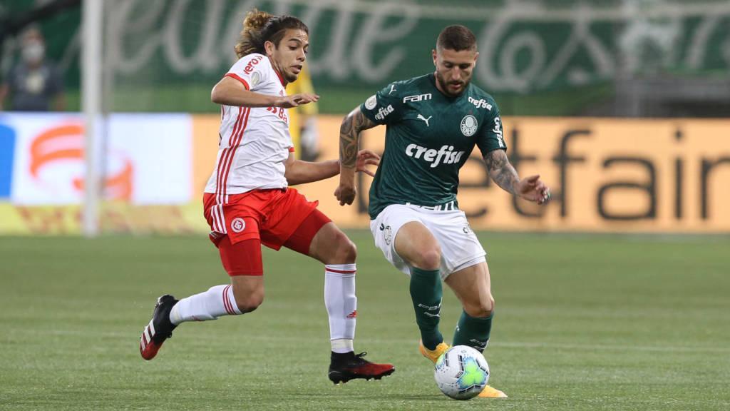 Inter x Palmeiras fazem briga direta pelo G-4 do Brasileirão