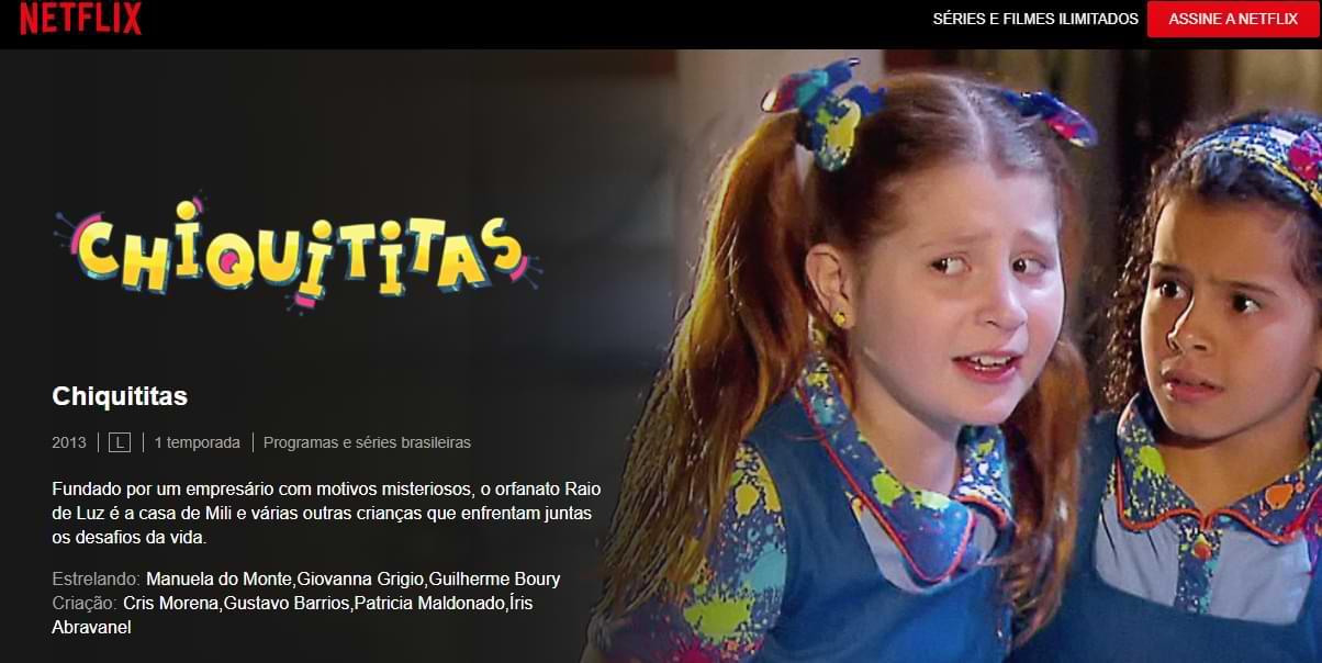 Chiquititas na Netflix
