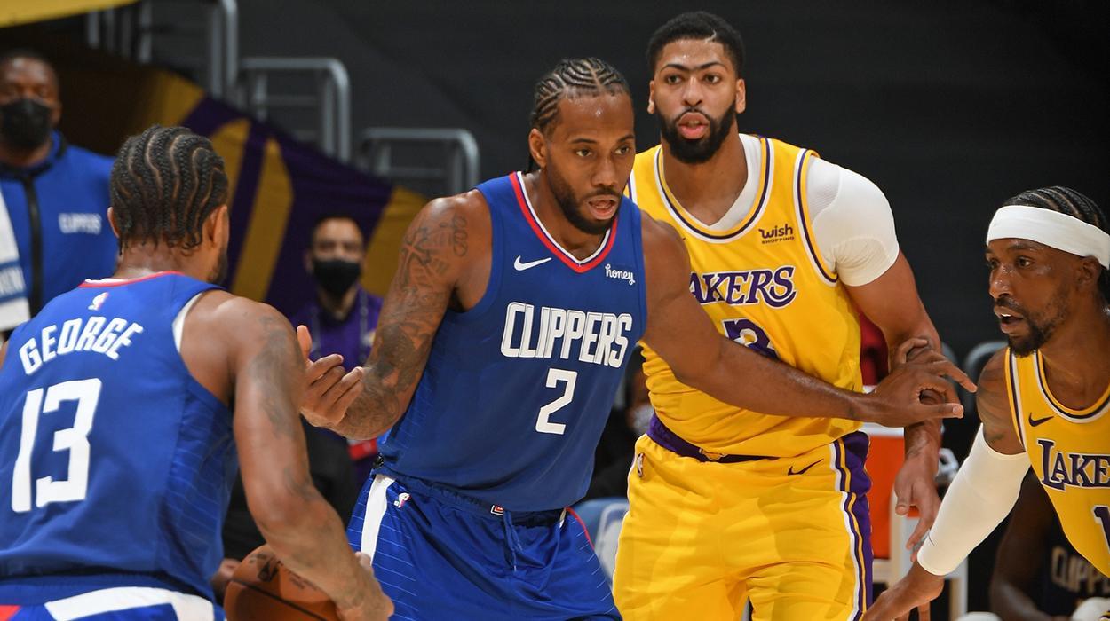 Lakers e Clippers jogam na temporada 2020 e 2021 da NBA