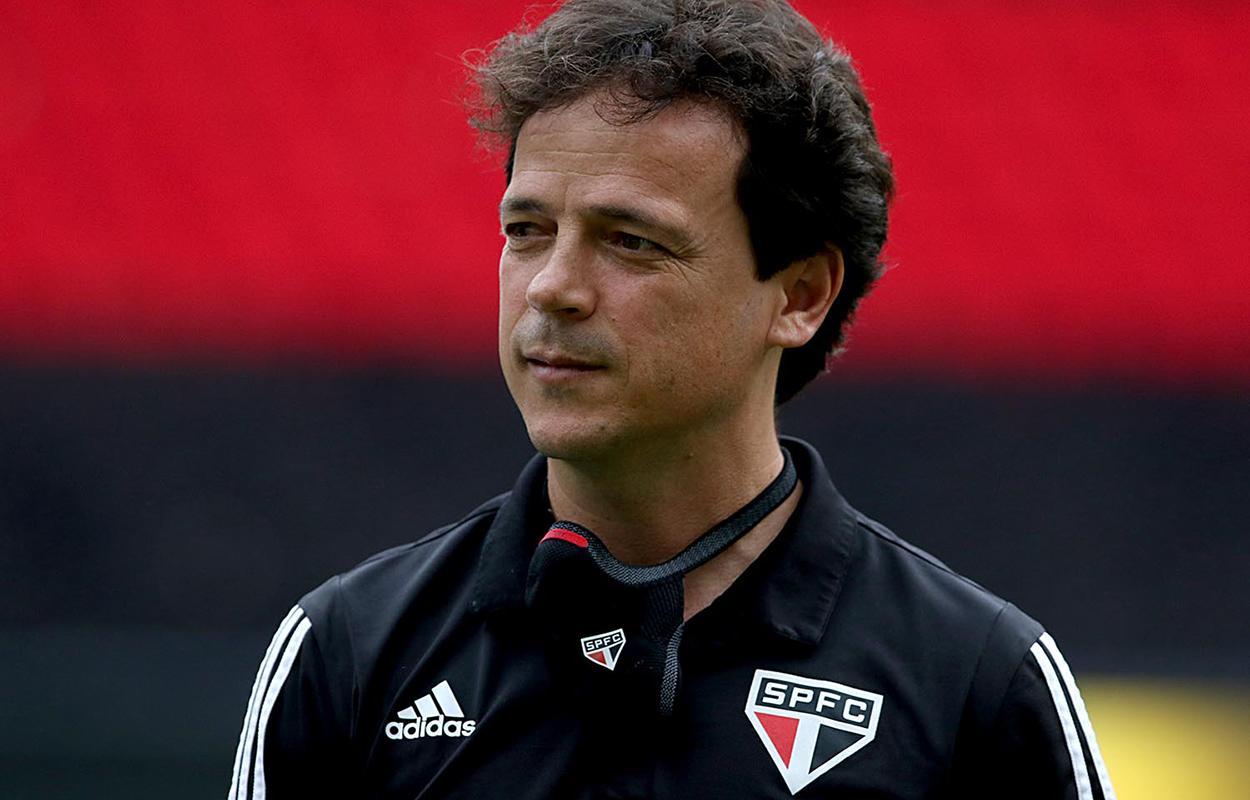 Fernando Diniz, técnico do São Paulo