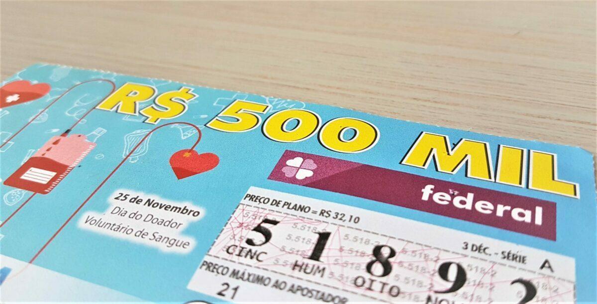 resultado da loteria federal 5523 - Bilhete da loteria Federal