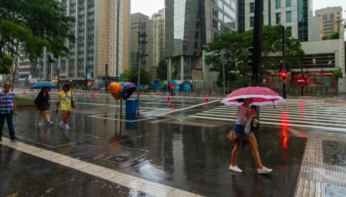 Previsão do tempo sp - chuva