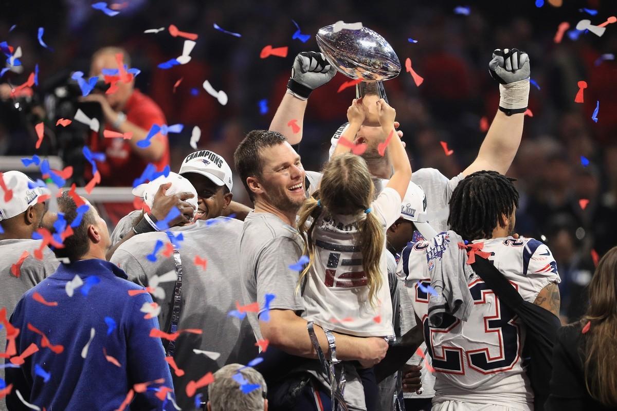 Tom Brady é considerado um dos maiores jogadores da NFL