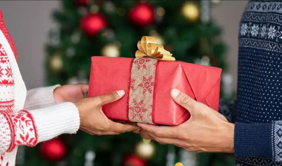 trocar presente de natal