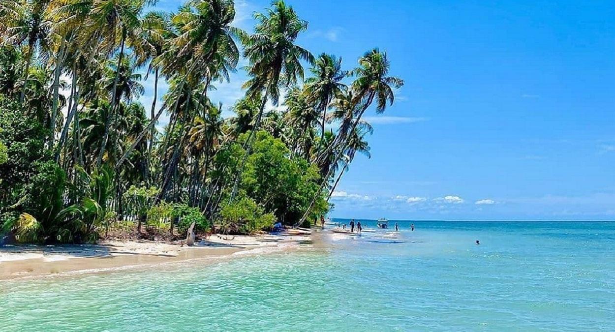 Ilha de Boipeba na Bahia