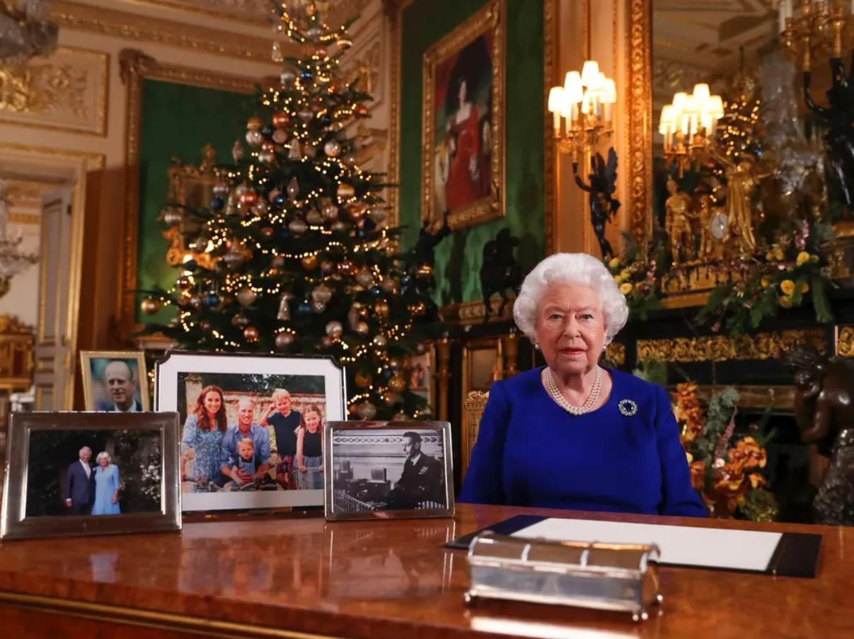 Discurso de natal da rainha