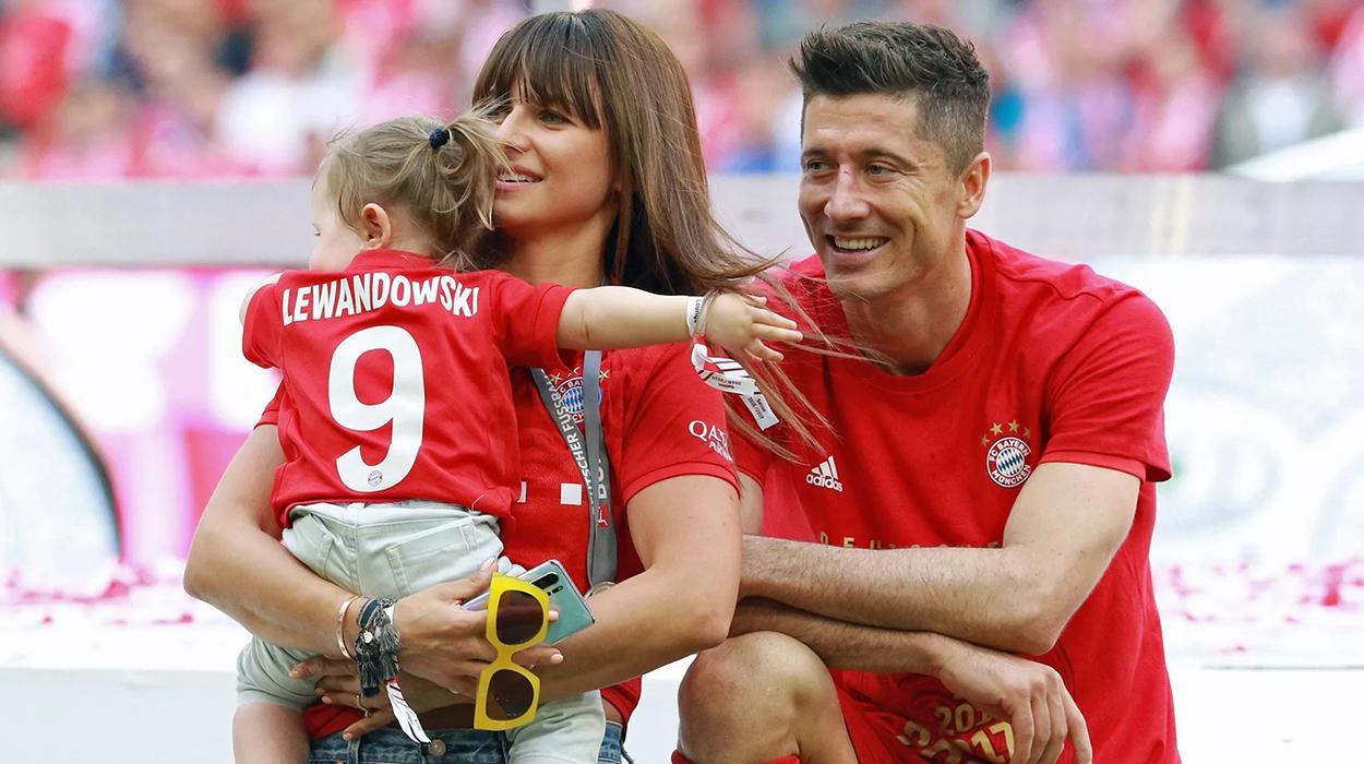 Lewandowski e a família