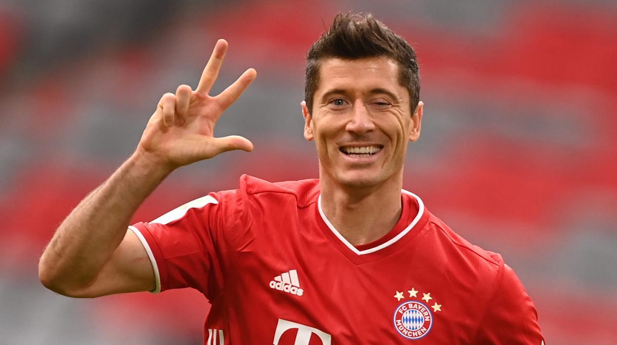 Lewandowski, atacante do Bayern de Munique
