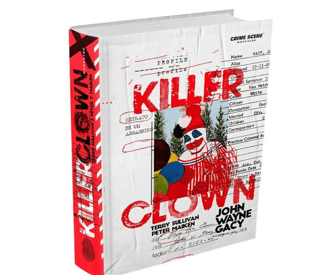 Killer Crown, o livro