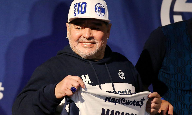 Container de Maradona