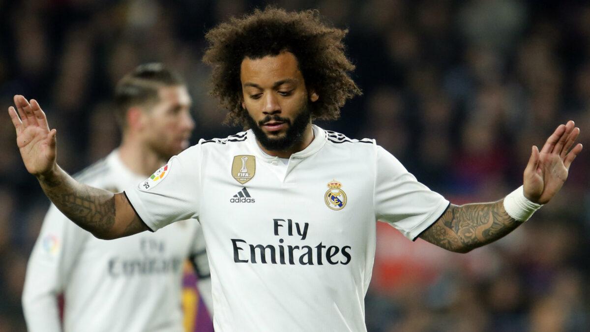 Marcelo está no Real Madrid desde 2007