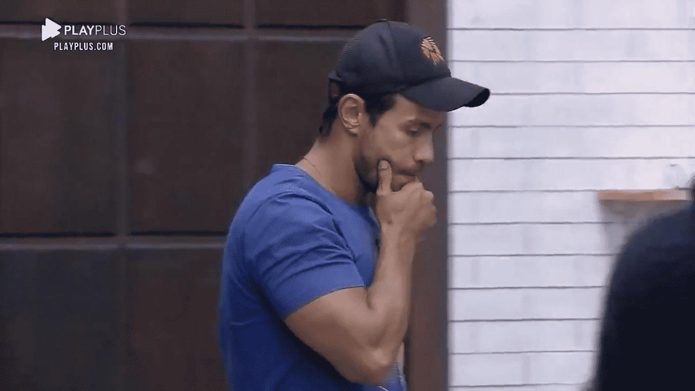 Mariano após eliminação de Jakelyne em A Fazenda 2020