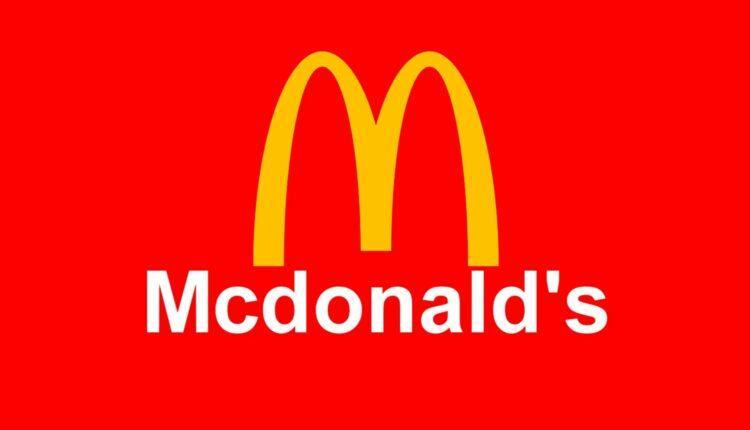 Logo do McDonald's - A Fazenda 2020