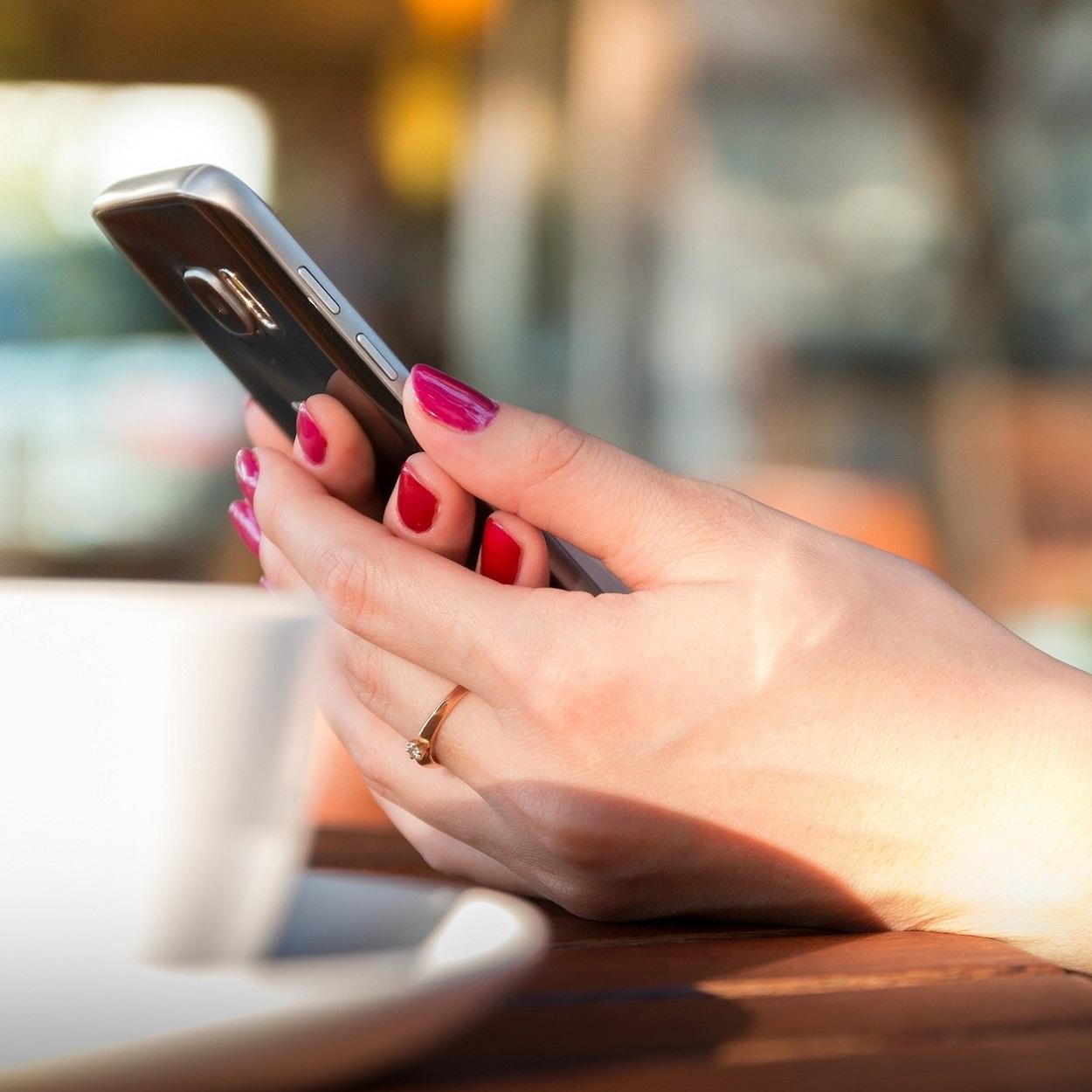 Site de relacionamento pelo celular