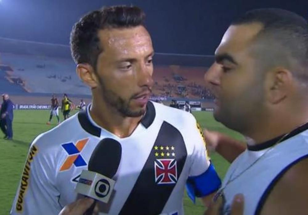 Nenê participou do terceiro dos rebaixamentos do Vasco no Brasileirão