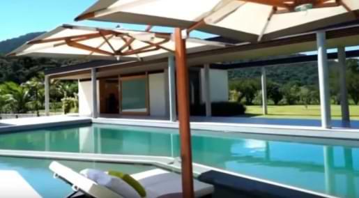 piscina dos famosos