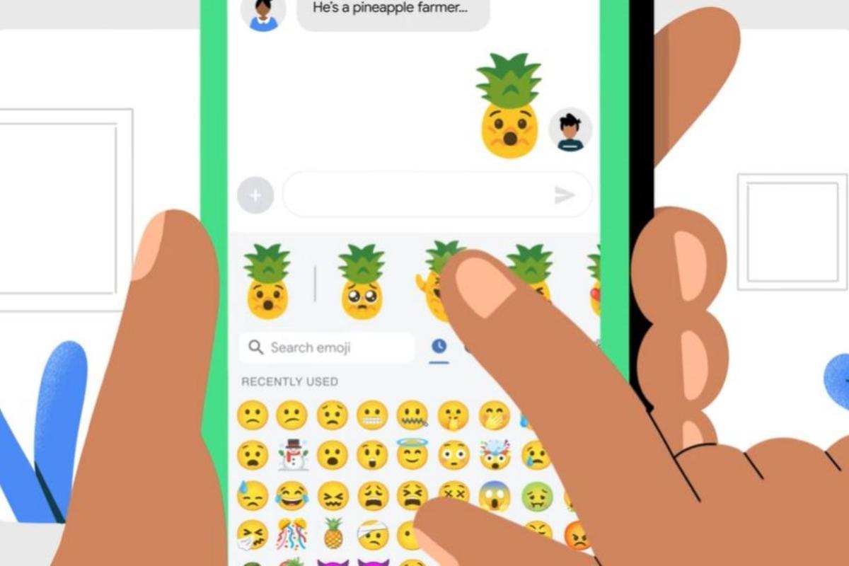Como criar emojis com teclado da Google
