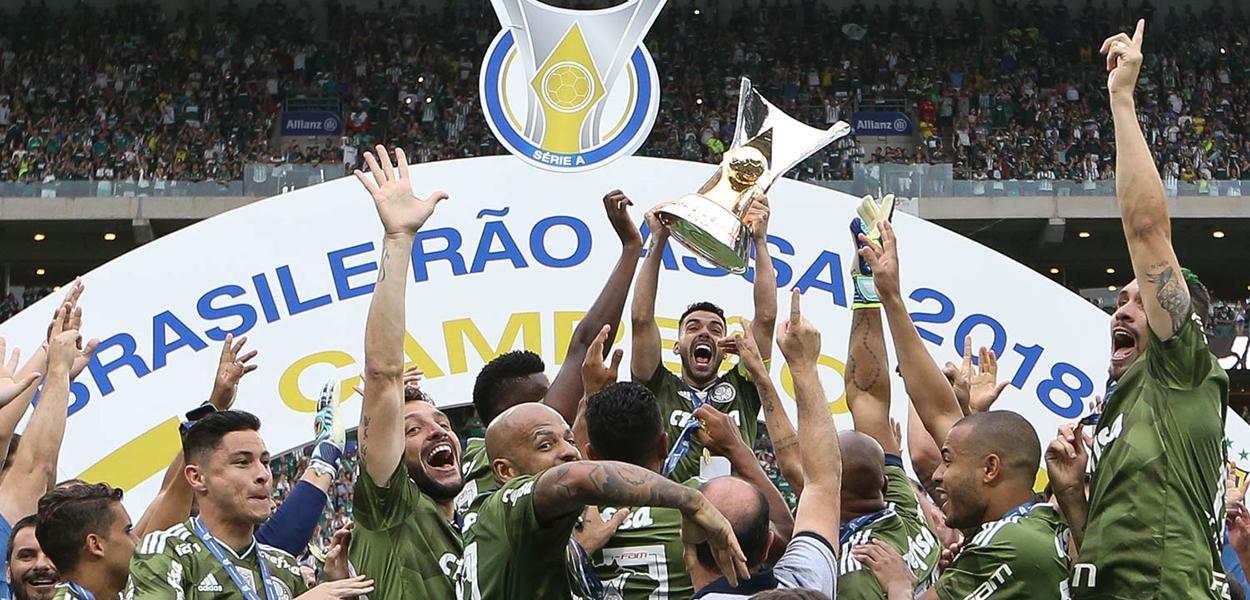 Palmeiras campeão brasileiro de 2018