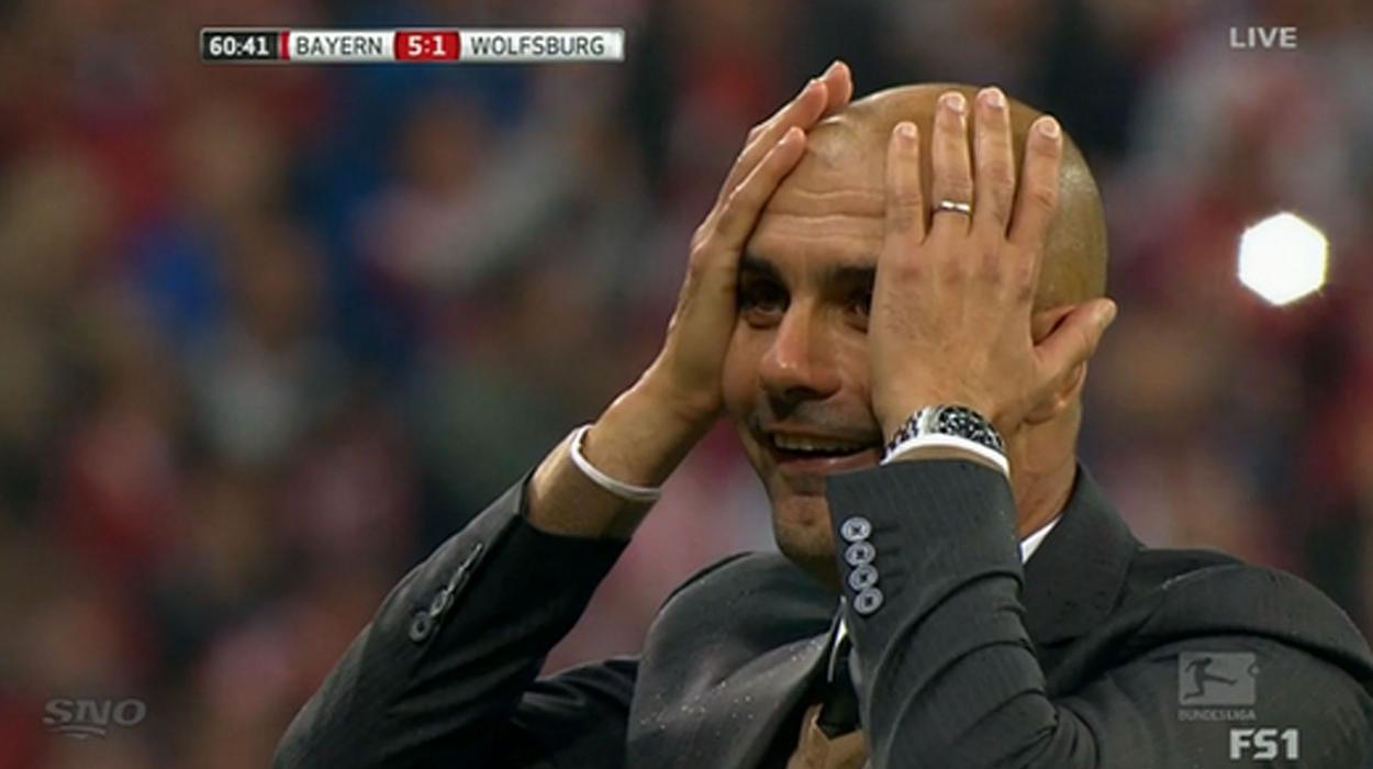 Peo Guardiola no Bayern de Munique