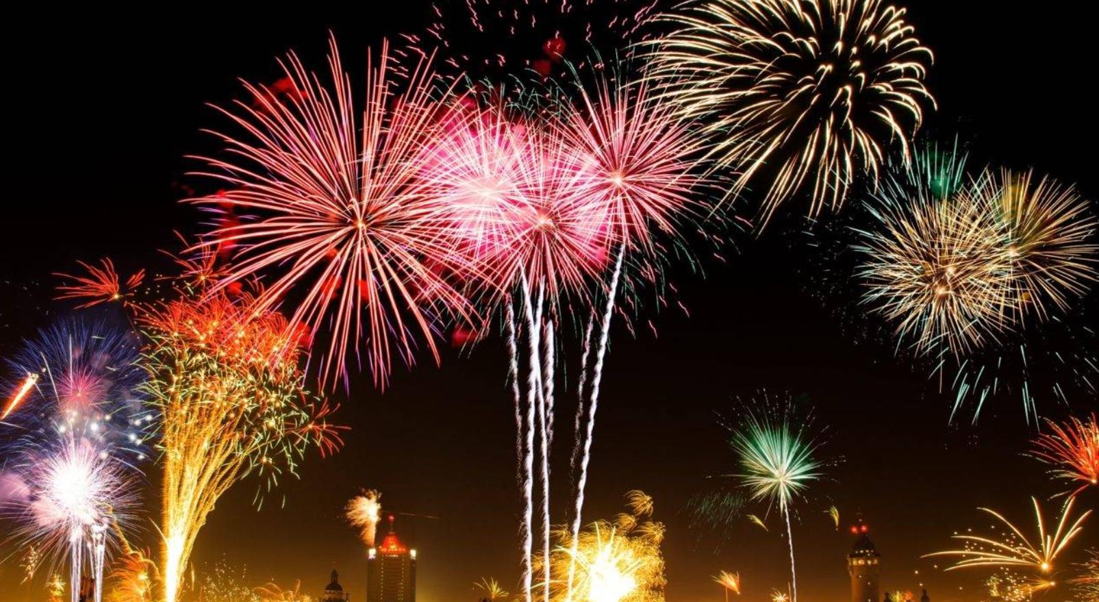 virada de ano são paulo - fogos de artifício